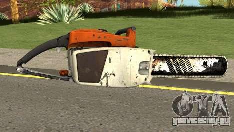 Chainsaw HQ (With HD Original Icon) для GTA San Andreas