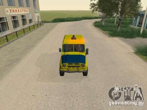 УАЗ 469 Милиция для GTA San Andreas вид сверху