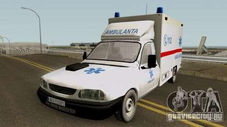 Dacia Papuc Ambulanta 2002 для GTA San Andreas