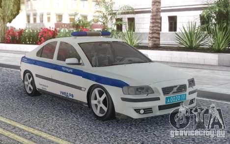 Volvo S60 Police для GTA San Andreas