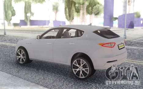 Maserati Levante для GTA San Andreas