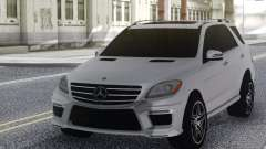 Mercedes-Benz ML63 White для GTA San Andreas