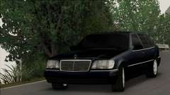 Mercedes-Benz S600 W140 Final Version для GTA San Andreas