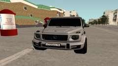 Mercedes-Benz G63 AMG 2018 Black для GTA San Andreas