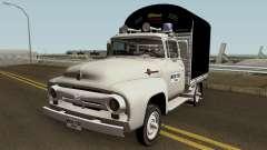 Ford F100 Con Estacas для GTA San Andreas