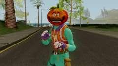 Fortnite TomatoHead Skin для GTA San Andreas