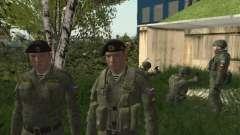 Пак бойцов Морской Пехоты РФ для GTA San Andreas