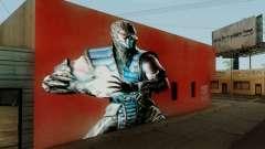 Sub Zero Mural для GTA San Andreas