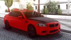 BMW M5 F10 Red для GTA San Andreas