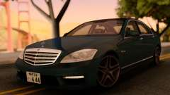 Mercedes-Benz S65 AMG Japanese HQ для GTA San Andreas