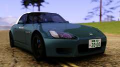 Honda S2000 AP1 White Roof для GTA San Andreas