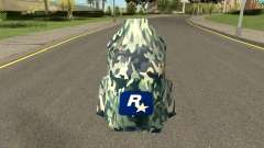 Retexture Parachute HQ (With HD Original Icon) для GTA San Andreas