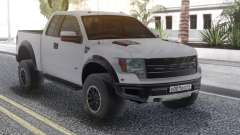 Ford Raptor White для GTA San Andreas