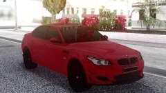 BMW M5 E60 Red Sedan для GTA San Andreas
