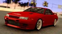 Nissan Skyline GT-R BNR32 TBK Red для GTA San Andreas