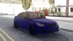 BMW M5 E60 Blue для GTA San Andreas