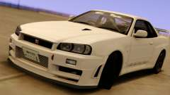 Nissan Skyline GT-R BNR34 Mid Night