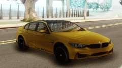 BMW M3 F30 Acrapovic для GTA San Andreas