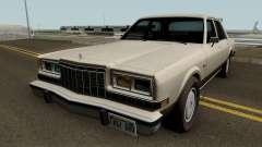 Dodge Diplomat 1981-1987 для GTA San Andreas