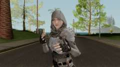 PUBGSkin 4 Skin Female ByLucienGTA для GTA San Andreas