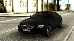 BMW M6 Black для GTA San Andreas