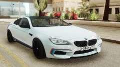 BMW M6 Coupe White для GTA San Andreas