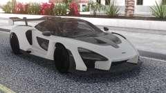 McLaren Senna 2019 Carbon White для GTA San Andreas