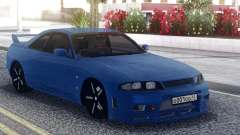 Nissan Skyline R33 Blue для GTA San Andreas