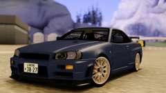 Nissan Skyline R34 GODZILLA для GTA San Andreas