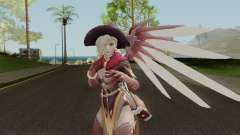 Witch Mercy from Overwatch для GTA San Andreas