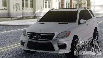 Mercedes-Benz ML63 White для GTA San Andreas