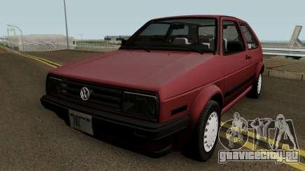 Volkswagen Golf Mk2 (US-Spec) для GTA San Andreas
