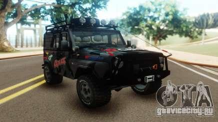UAZ Hunter Offroad для GTA San Andreas