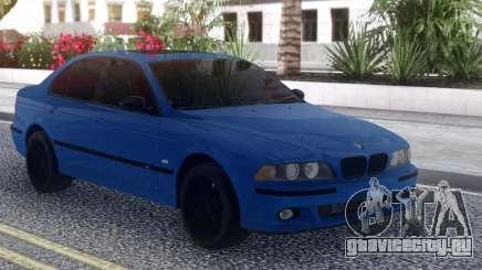 BMW M5 E39 Blue Sedan для GTA San Andreas