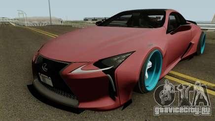 Lexus LC 500 Liberty Walk 2017 для GTA San Andreas
