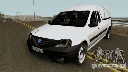 Dacia Logan Pickup (Pompe Funebre) 2008 для GTA San Andreas