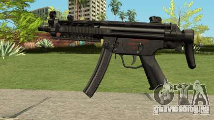 MP5 HQ (With HD Original Icon) для GTA San Andreas