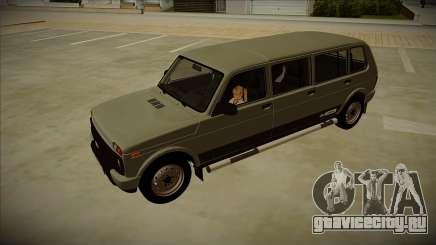 Lada 4x4 Urban 7-doors для GTA San Andreas
