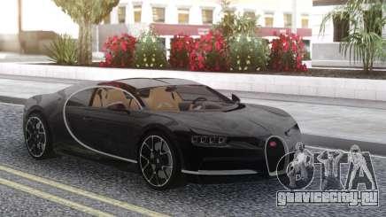 Bugatti Chiron Black для GTA San Andreas