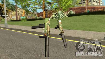 TEC9 Case Hardened для GTA San Andreas