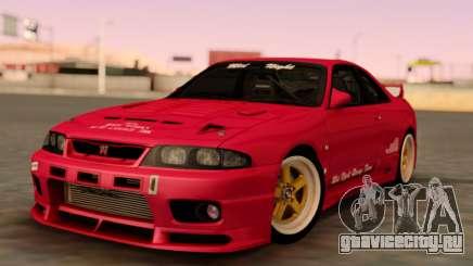 Nissan Skyline GT-R BCNR33 для GTA San Andreas