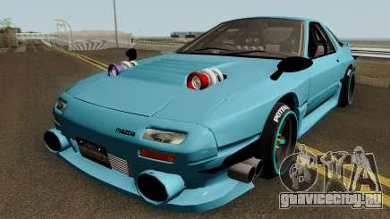 Deuces Mazda RX-7 Savanna FC3S для GTA San Andreas
