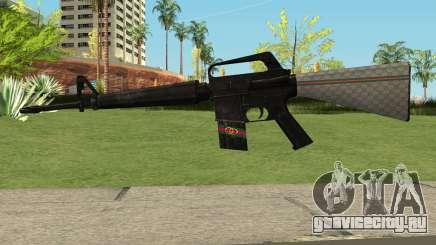 M4 Gucci для GTA San Andreas