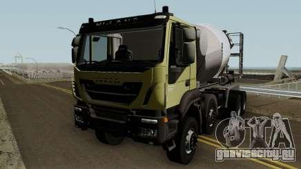 Iveco Trakker Cement 8x4 для GTA San Andreas