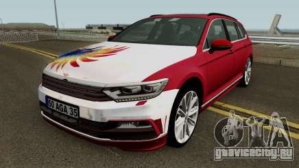Volkswagen B8 Stationwagon MEY Yapım (IzmirAuto) для GTA San Andreas