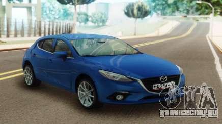 Mazda 3 Blue для GTA San Andreas