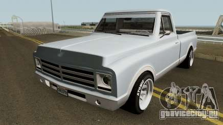 Chevrolet C-10 Custom Pickup Normal 1967 для GTA San Andreas