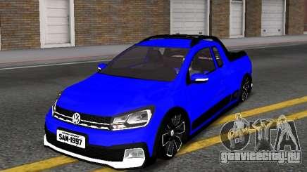 Volkswagen Saveiro Cross G7 with Sound для GTA San Andreas