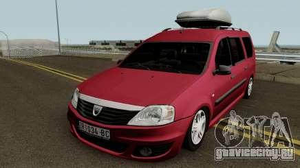Dacia Logan MCV Facelift 2010 для GTA San Andreas
