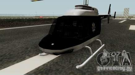 Helikopter Polskiej Policji для GTA San Andreas